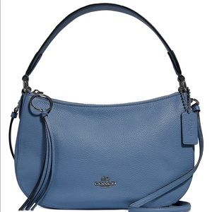 Coach Crossbody in Polished Pebble Leather